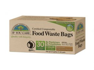 Compostable Eco Food Waste Bags Pack Of 30