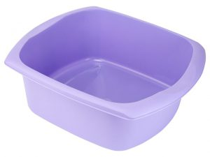 Addis Rectangular Bowl Lavender 9.5L