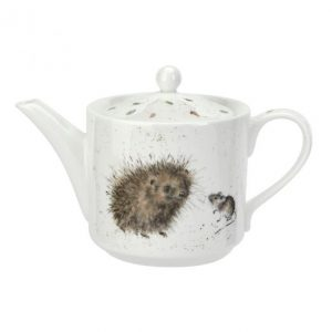 Wrendale Teapot Hedgehog And Mouse One Pint