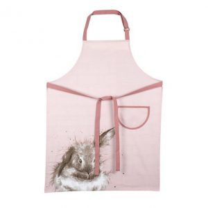 Wrendale Apron Rabbit Pink