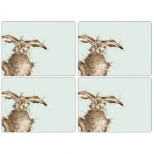 Wrendale Placemats Hare Set Of Four