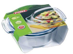 Pyrex Excellence Round Casserole Dish 3.5 Litre