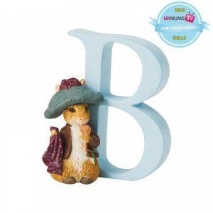 "BeatrixPotter ""B"" – Benjamin Bunny"