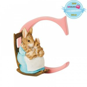 "BeatrixPotter ""C"" – Mrs. Rabbit and Bunnies"