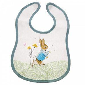 BeatrixPotter Peter Rabbit Childrens Bib