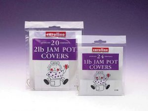 Caroline Jam Pot Covers 1lb x 24