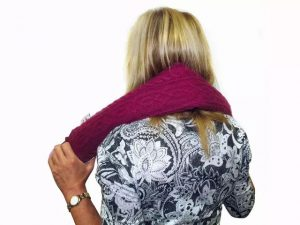 Long Hot water Bottle- Assorted Colours