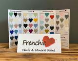 Frenchic Colour Cards 2021 at Staines & Brights