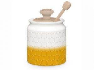 KitchenPantry Honey Pot + Drizzler Yellow