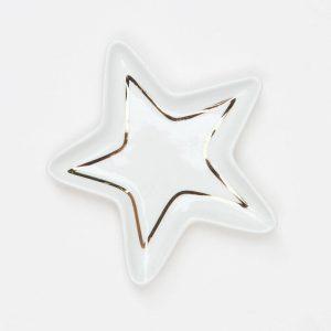 CarolineGardner Gold Star Trinket Tray