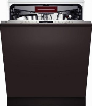 Neff S355HCX27G Built_In Full Size Dishwasher – Steel – 14 Place