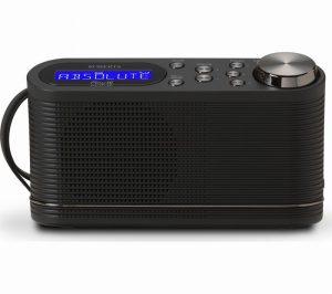 Roberts Play10 DAB Radio, FM Black