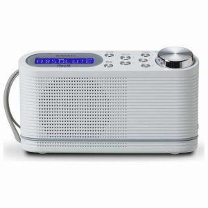 Roberts Play 10 DAB/DAB+/FM Portable Radio (White)