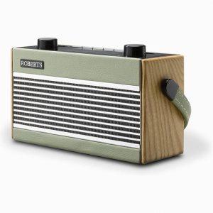 Roberts Rambler Portable DAB+/FM Retro Bluetooth Radio – Green
