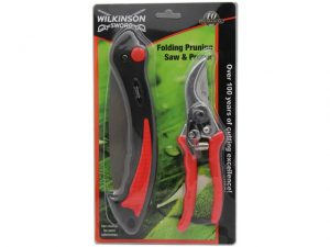 WilkinsonSword Pruning Saw & Pruner Set