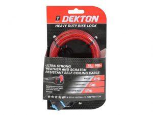 Dekton Heavy Duty Bike Lock 15 x 900mm