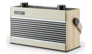 Roberts Rambler Retro DAB/ FM Radio – Cream