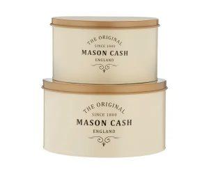 Mason Cash Heritage Set Of 2 Cake Tins