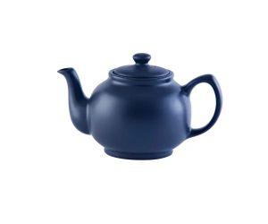 Price&Kensington Matt Navy Blue 6cup Teapot