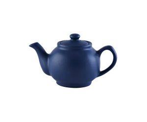 Price&Kensington Matt Navy Blue 2cup Teapot