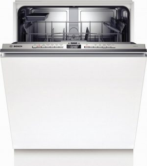 Bosch SGV4HAX40G Full Size Built-In Dishwasher – Steel – 13 Plac