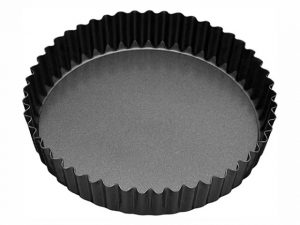 Luxe Loose Base Fluted Quiche Pan 25cm