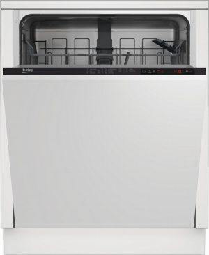 Beko DIN15322 Integrated Full Size Dishwasher – White – 13 Place