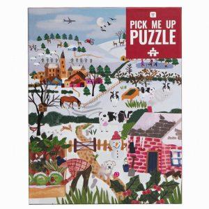 Winter Garden Puzzle 1000 Pieces