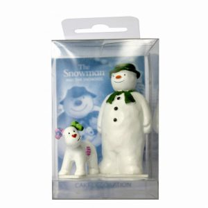 The Snowman and The Snowdog Cake Toppers