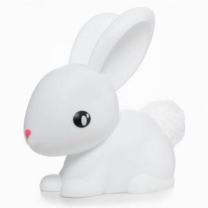 LED Night Light White Bunny Medium