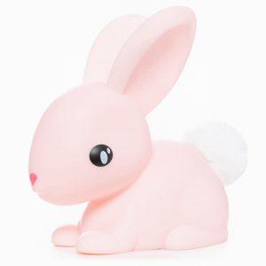 LED Night Light Pink Bunny Medium