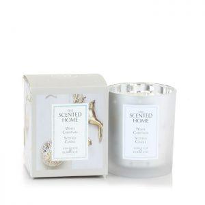 Ashleigh And Burwood Jar Candle White Christmas